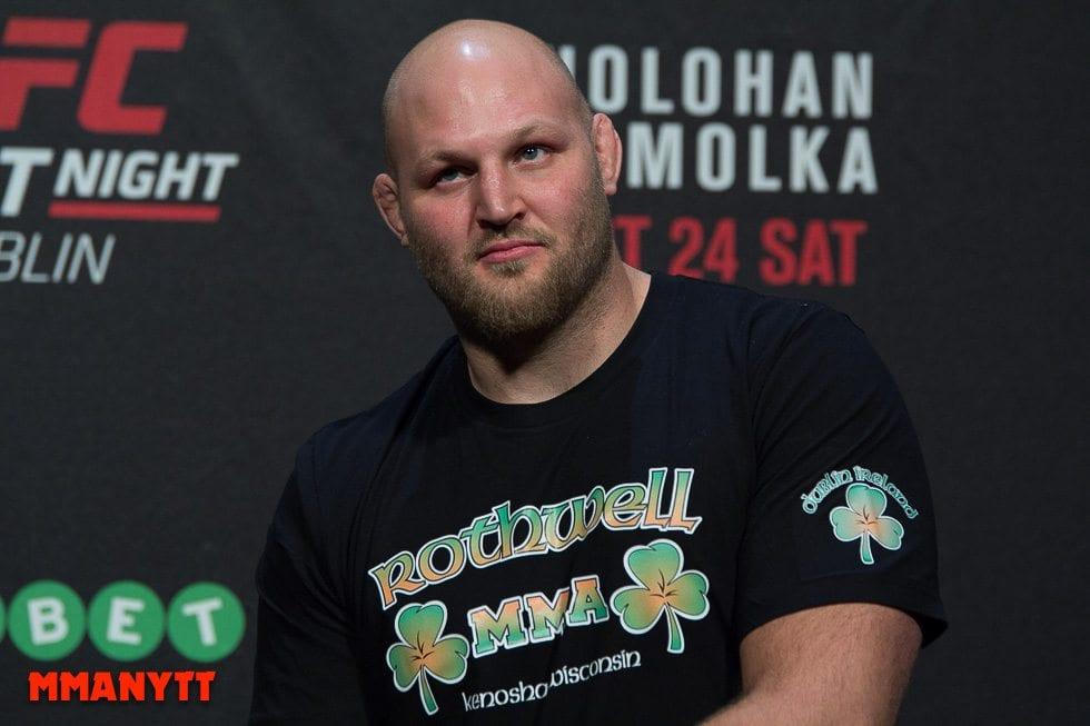 Ben Rothwell UFC Fight Night 76 Weigh in Dublin MMAnytt Photo Mazdak Cavian-8