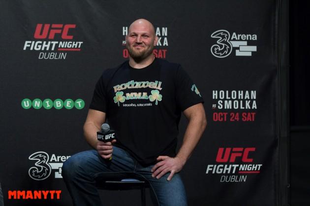 """Ben Rothwell: """"Uppenbart att Cain Velasquez inte ville möta Fabricio Werdum på UFC 207"""""""