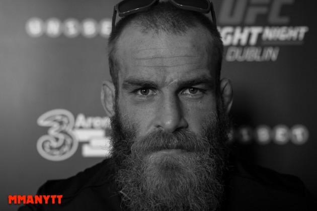 Bildspel: Mediadag med UFC Fight Night 76 Dublin