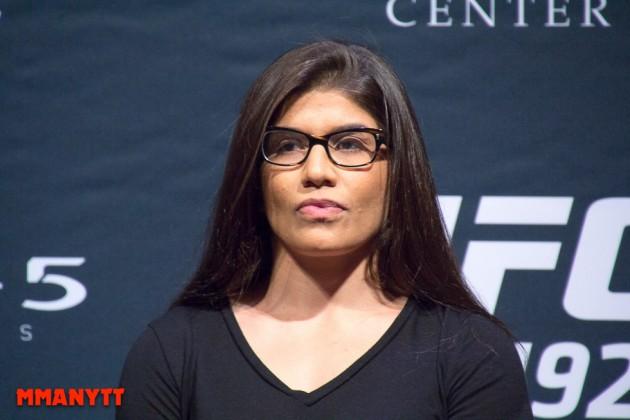 Jessica Aguilar tror att Claudia Gadelha kan vinna inatt, med rätt strategi