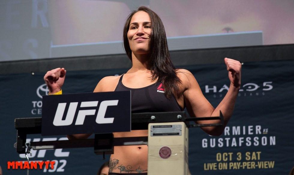Jessica Eye UFC 192 2015 MMAnytt 2015 Foto Mazdak Cavian UFC_-57