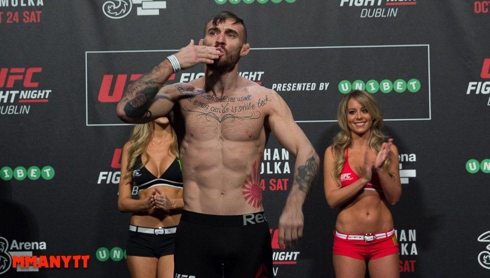 Robert Whiteford UFC Fight Night 76 Weigh in Dublin MMAnytt Photo Mazdak Cavian-24
