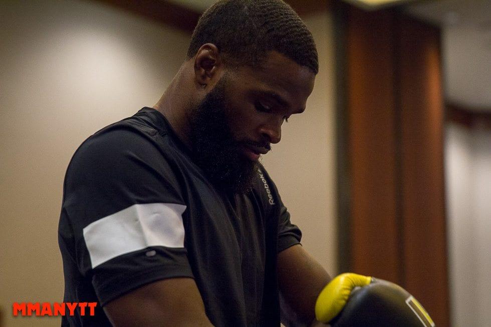 Tyron Woodley UFC 192 2015 MMAnytt 2015 Foto Mazdak Cavian UFC_-44