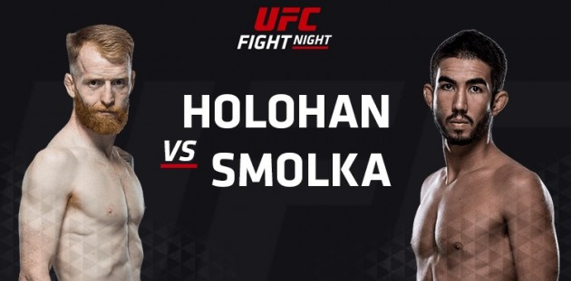 Se UFC Fight Night 76: Holohan vs Smolka On Demand
