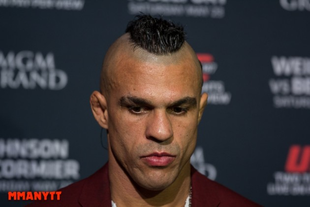 """Vitor Belfort: """"The only way to achieve success is to go through pain and sacrifice"""""""