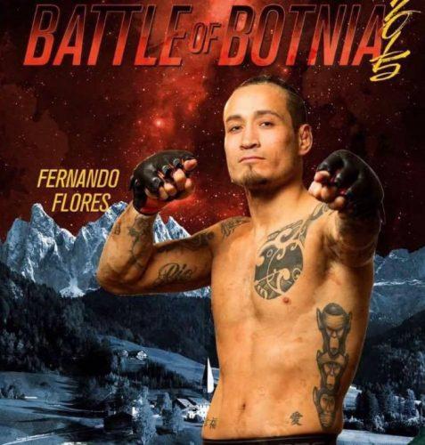 """Fernando Flores om sin match på Battle of Botnia: """"Domaren stoppar i andra"""""""