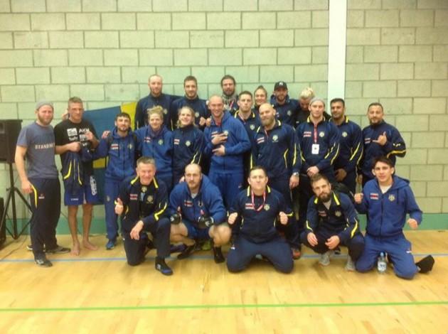Blandade resultat för svenska landslaget på EM i Amatör-MMA