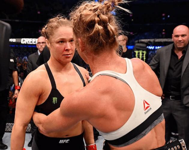 Vad tycker fighters om all skit Ronda Rousey fått efter UFC 193? Se vad kollegorna har att säga här!