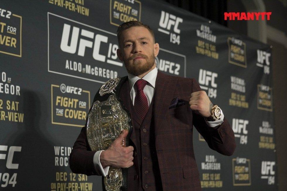 Conor McGregor, en av UFC:s största stjärnor någonsin. Foto: Mazdak Cavian
