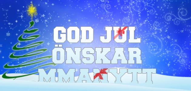 MMAnytt önskar God Jul