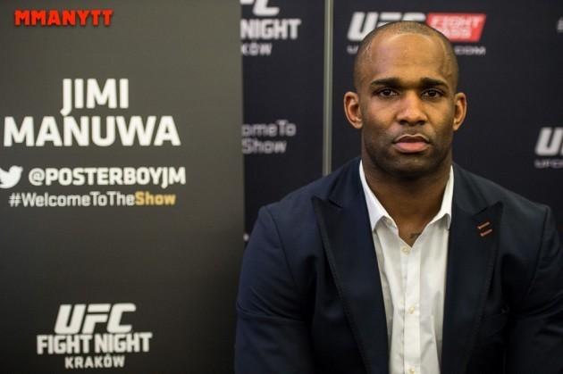 Nyhet: Jimi Manuwa skadad – borta ur UFC Fight Night 83 mot Nikita Krylov