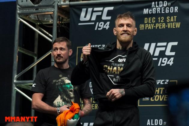 Finns det någon i UFC med större bollar än Conor McGregor?