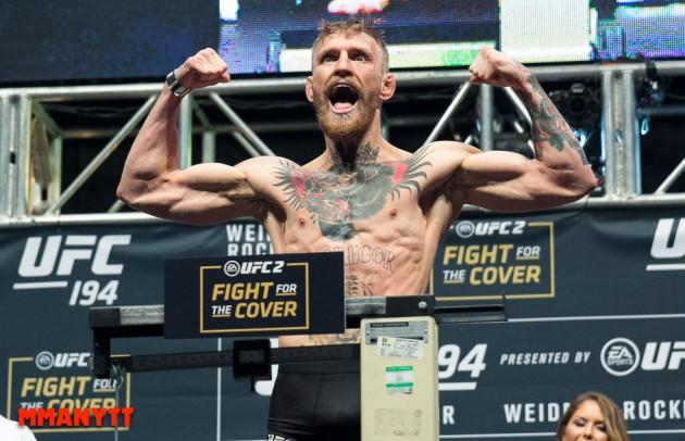 Video: Conor McGregor ser riktigt vass ut i sparring inför UFC 196