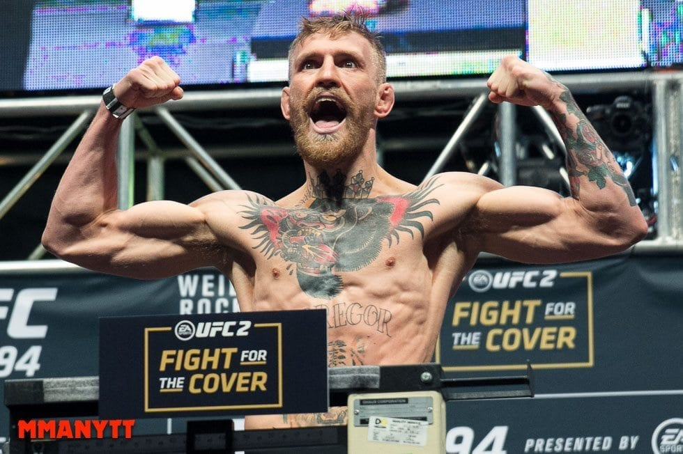 Conor McGregor UFC 194 Weigh In Las Vegas MMAnytt Photo Mazdak Cavian 2015-64