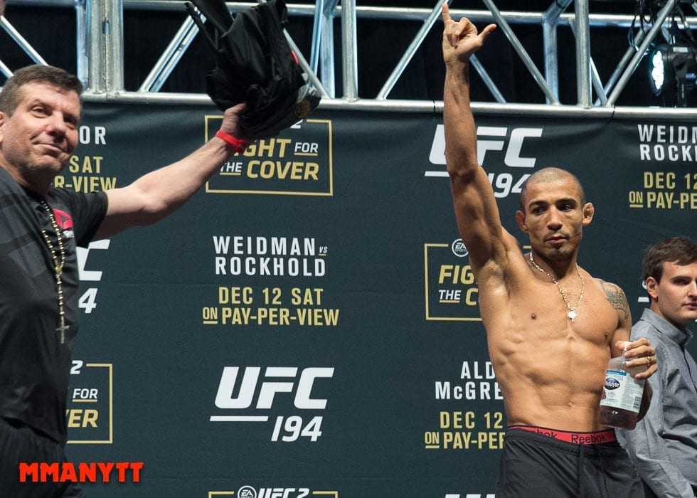 Jose Aldo UFC 194 Weigh In Las Vegas MMAnytt Photo Mazdak Cavian 2015-81