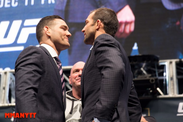 Dana White: Luke Rockhold vs. Chris Weidman II bokad till UFC 199
