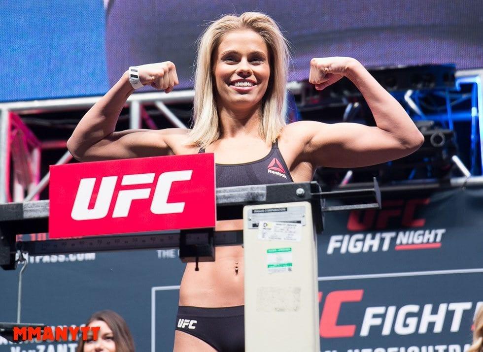 UFC Fight Night 80 Weigh In Paige VanZant MMAnytt Photo Mazdak Cavian-47