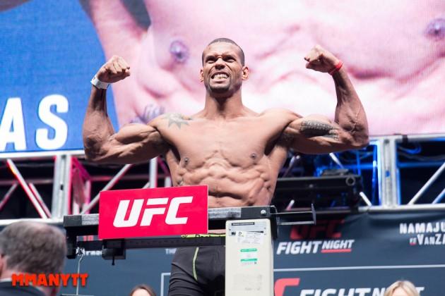 """Thiago Santos till MMAnytt: """"Jag var orolig över vem domarna skulle ge matchen till"""""""