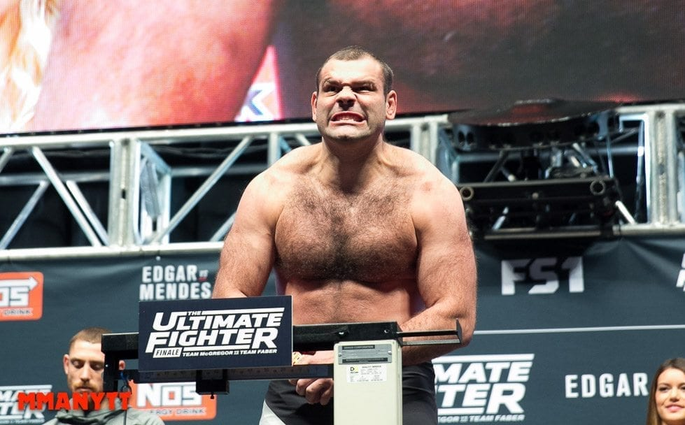 Gabriel Gonzaga UFC The Ultimate Fighter Finale Weigh-in  MMAnytt Photo Mazdak Cavian-29