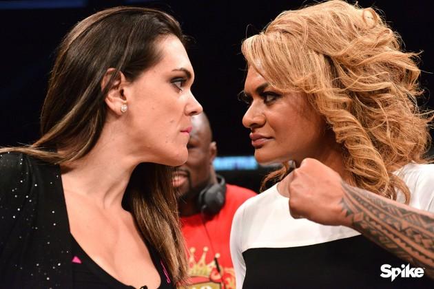 Gabi Garcia vs Lei'D Tapa över i första ronden