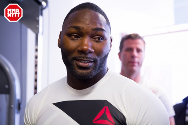 Det är bekräftat: Anthony Johnson kommer till UFC on FOX 20 i Chicago