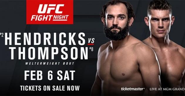 Se UFC Fight Night 82: Hendricks vs Thompson On Demand