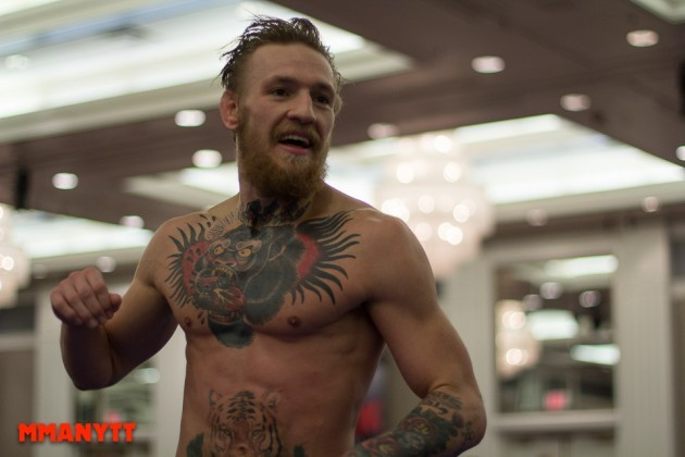Möjligt hot mot Conor McGregor på Twitter