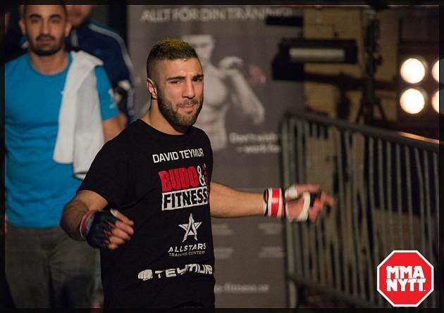 """David Teymur om matchen mot Martin Svensson under UFC Fight Night 84: """"Jag kommer att stå som vinnare!"""""""