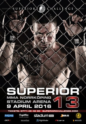 Kolla in trailern för Superior Challenge 13 i Norrköping
