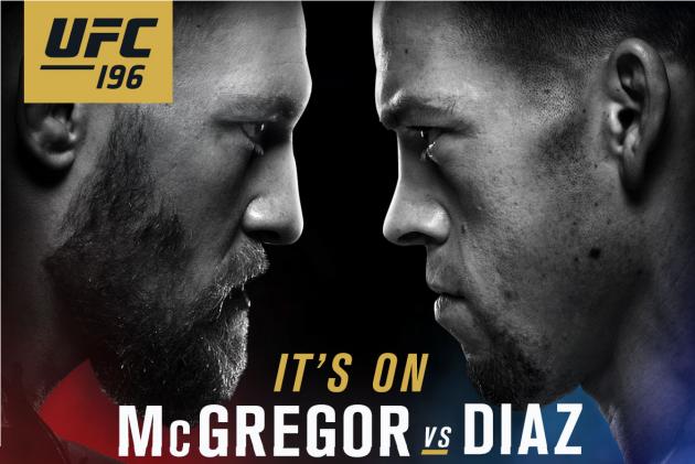 Helgens UFC – UFC 196: McGregor vs Diaz