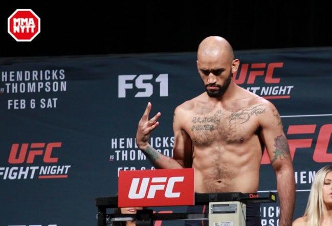 UFC FIGHT NIGHT 82 WEIGH-IN MIKE JACKSON LAS VEGAS NEVADA MAZDAK CAVIAN Copyright  MMAnytt.se 2016-3