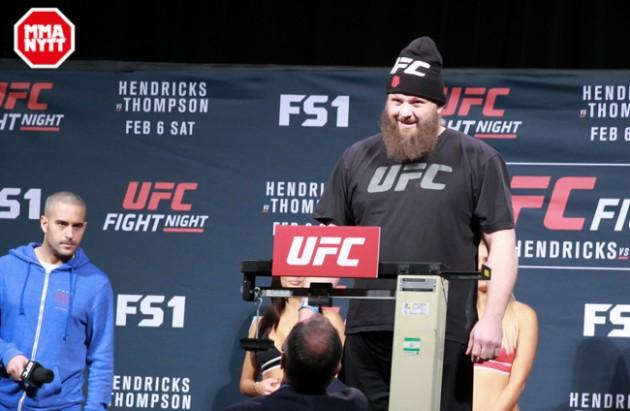 Roy Nelson tror vinst mot Derrick Lewis på UFC Fight Night 90 ger honom titelchans