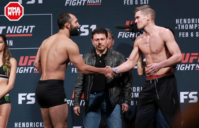Stephen Thompson vs Johny Hendricks Photo Mazdak Cavian