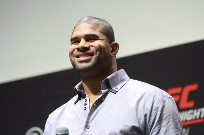 UFC FIGHT NIGHT 84 ALISTAIR OVEREEM WEIGH IN  O2 LONDON 2016 PHOTO MAZDAK CAVIAN MEDIADAY FIGHT-21