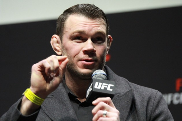 UFC FIGHT NIGHT 84 FORREST GRIFFIN WEIGH IN  O2 LONDON 2016 PHOTO MAZDAK CAVIAN MEDIADAY FIGHT-4