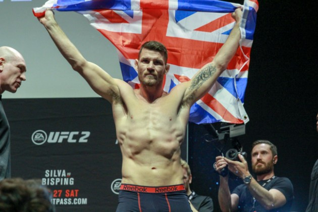 UFC 204: Bisping vs. Henderson II – Invägningsresultat