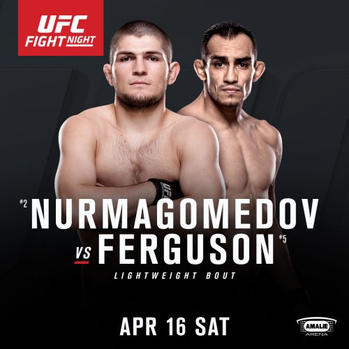 Huvudkortet för UFC on FOX 19: Nurmagomedov vs Ferguson offentliggjort