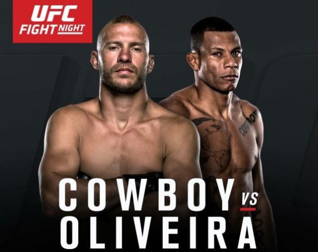 Nästa UFC-Gala – UFC Fight Night 83: Cowboy vs Oliveira