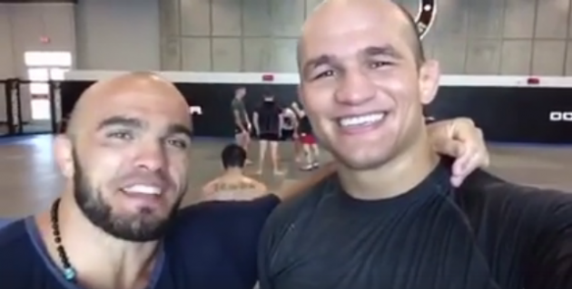 Video: Ilir Latifi med Junior Dos Santos på American Top Team