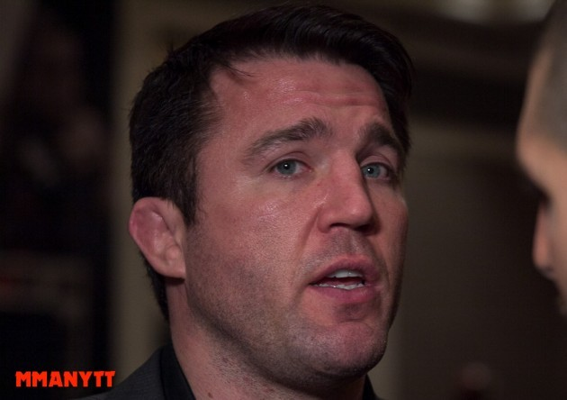 "Chael Sonnen: ""I would love to kick Georges St-Pierre's ass"""