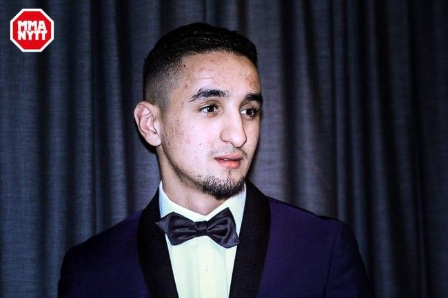 Hamza Bougamza har äntligen fått sin MMA-debut bokad. Foto: Mazdak Cavian