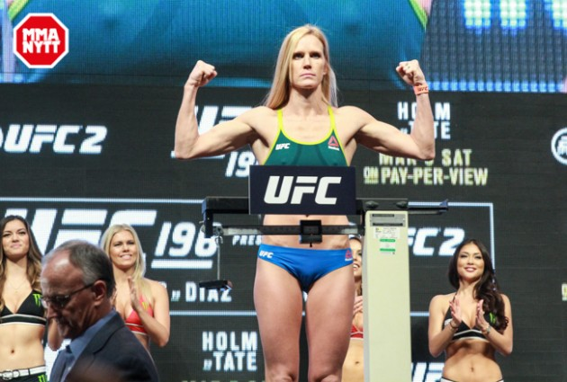 UFC 208: Holm vs. de Randamie – Invägningsresultat