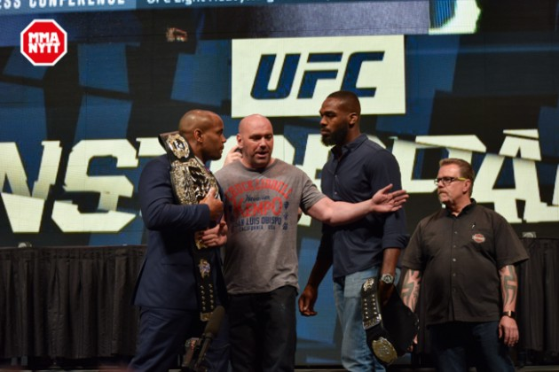 UFC 196 LAS VEGAS MGM DPATINKIN 2016 WEIGH IN CORMIER - JONES