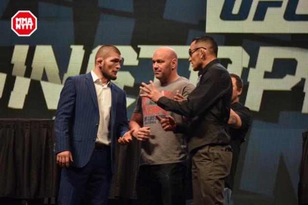 Uppgifter: Khabib Nurmagomedov vs. Tony Ferguson blir delad huvudmatch på UFC 209