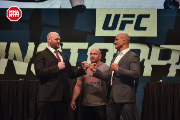 Video: De fem bästa ögonblicken från mediadagen inför UFC Fight Night 86