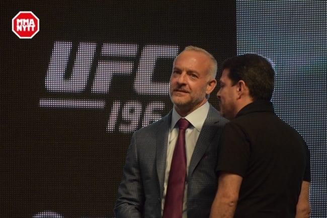 UFC 196 LAS VEGAS MGM WIEGH INS DPATINKIN 2016 LORENZO FERTITTA