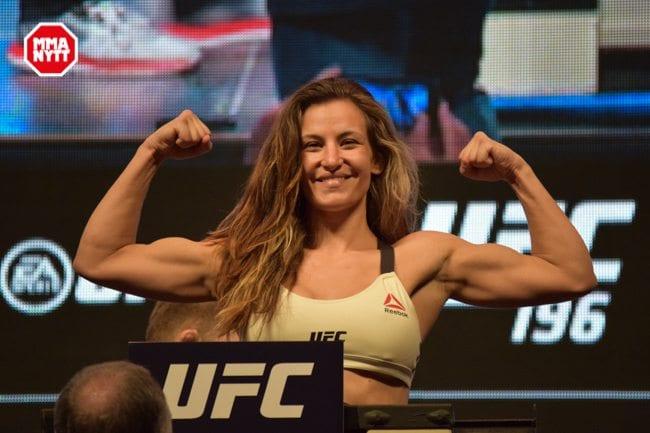 UFC 196 LAS VEGAS MGM WIEGH INS DPATINKIN 2016 MIESHA TATE