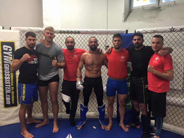 Reza Madadi tvingas ge upp sin plats på UFC: Hamburg-eventet