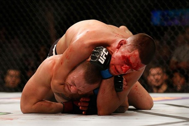 Nate Diaz vs Conor McGregor Foto: Christian Petersen/Zuffa LLC/Zuffa LLC via Getty Images