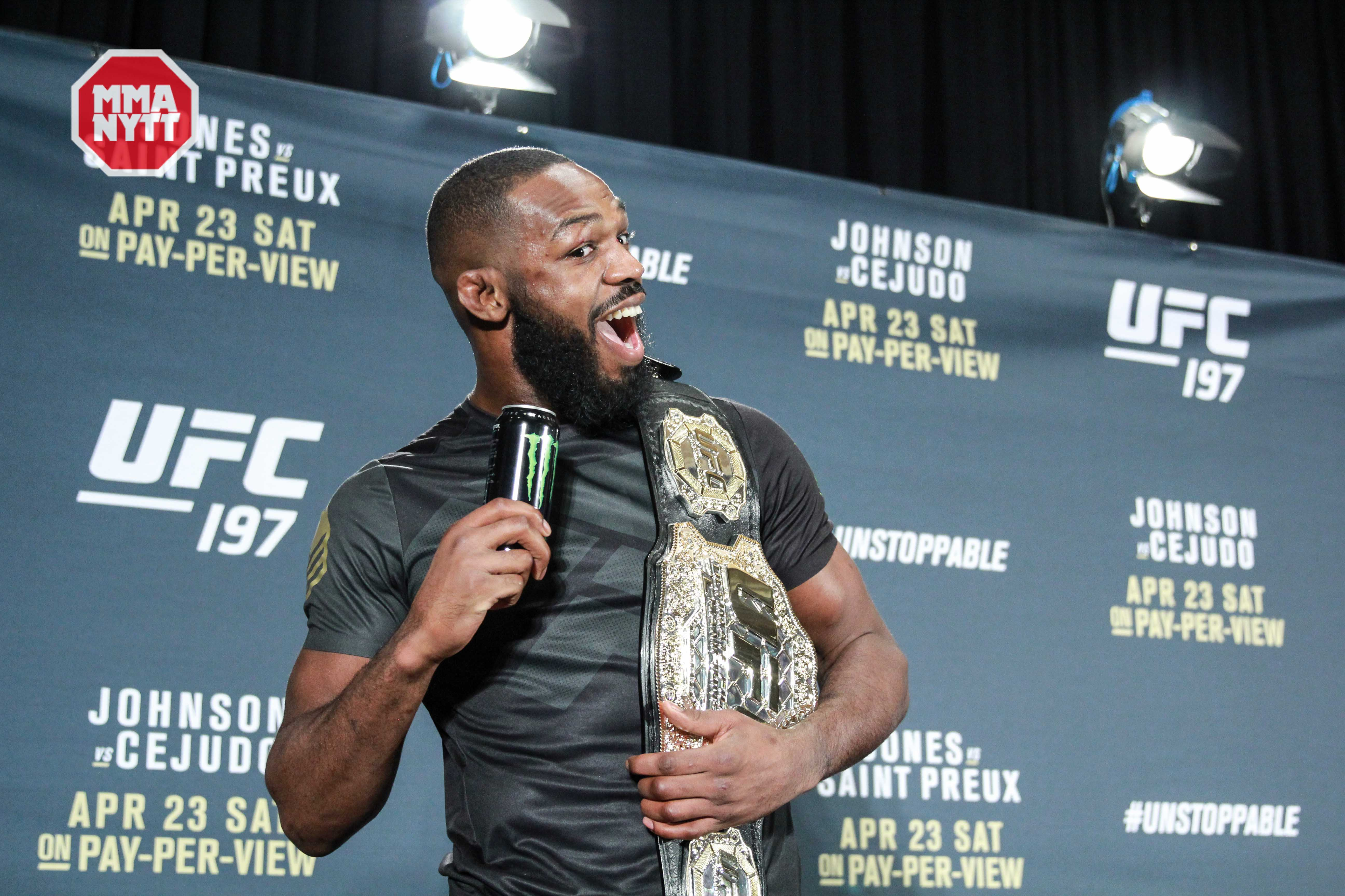 UFC 197 Jon Jones MMAnytt.se UFC post pressconfrence 2016-04-23 las vegas nevada mgm PHOTO MAZDAK CAVIAN_-31